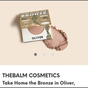 NWOT TheBalm Take Home the Bronze in Oliver